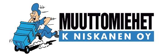 Yrityksen logo ja sen ylä puolella kärrymies1
